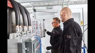 Enter ABB's high-power laboratory for low-voltage products