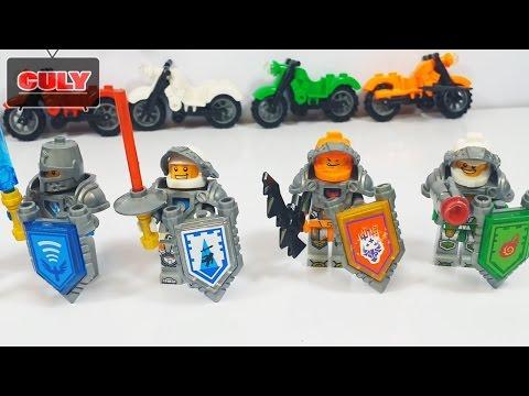 lắp ráp 6 bộ hiệp sĩ Lego Nexo Knight đồ chơi trẻ em - toy for  kid