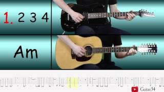 El Condor Pasa easy guitar arrangement + Tabs