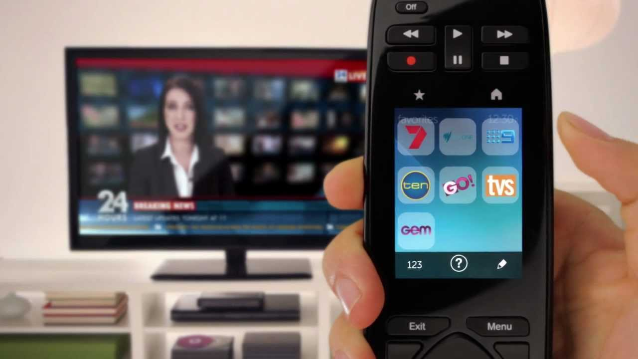 a7e1f9309b9 Setting Up the Logitech Harmony Touch Remote - YouTube