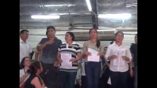 Proclamation of Rico Golez, Vice Mayor of Paranaque 14 May 2013