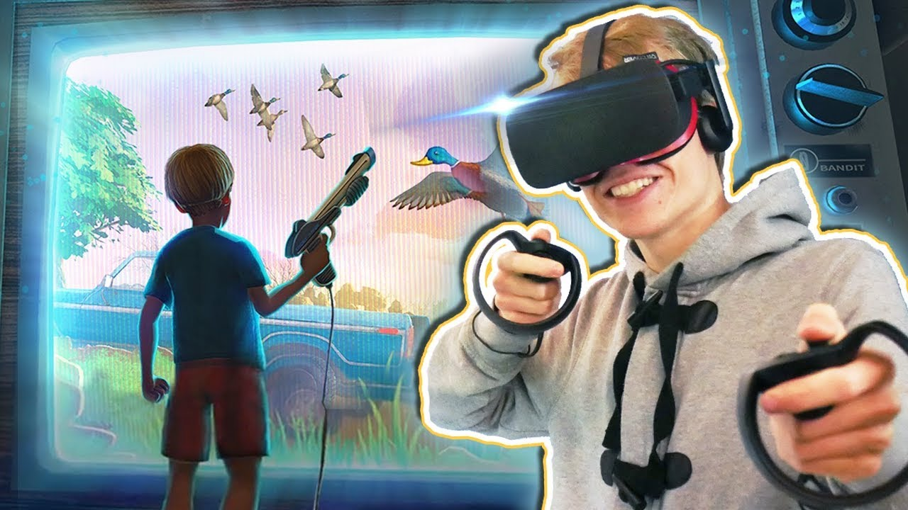 DUCK HUNT SIMULATOR IN VIRTUAL REALITY! | Duck Season VR (Oculus Touch Gameplay) #1