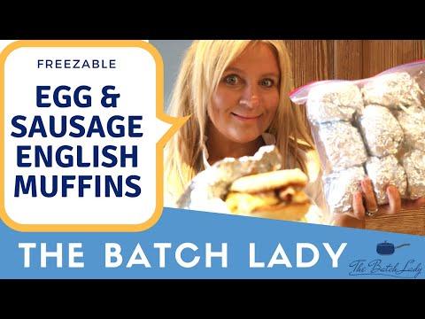 Sausage & Egg English Muffins