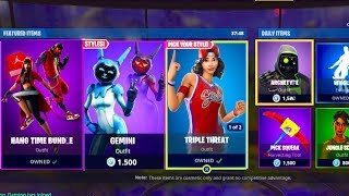 'NOUVEAU' FORTNITE ITEM SHOP RIGHT NOW MAY 24th NEW NBA SKINS! (Fortnite Battle Royale LIVE)