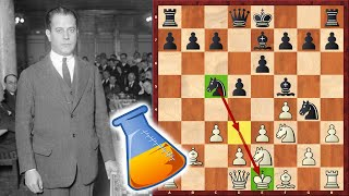 Capablanca Gets Crushed By A Club Player (Pharmacist) In 13 Moves