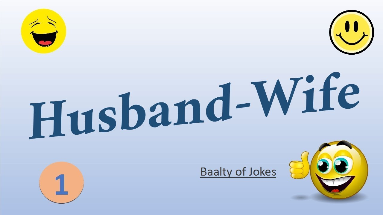 Image of: Urdu Best Husband Wife Jokes english Shahbazpoetry Best Husband Wife Jokes english Youtube