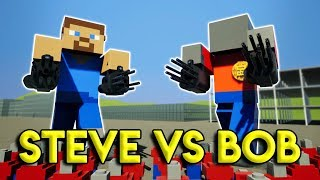 LEGO MINECRAFT MECH TAKES OUT THE CITY! - Brick Rigs Gameplay Challenge & Creations