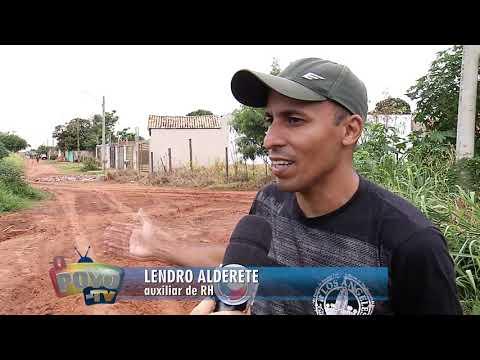 Rua desnivelada causa transtornos para moradores no Ramez Tebet e Macaúbas