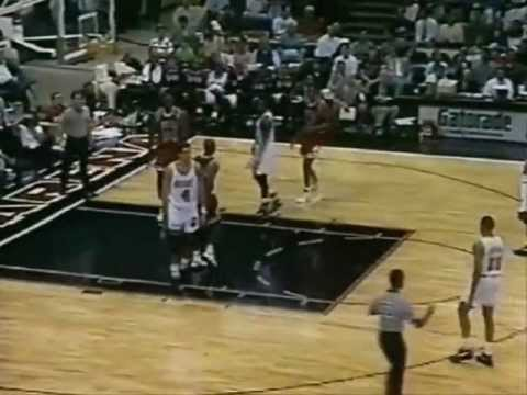 Michael Jordan 1992-93: 39 points vs. Miami Heat.