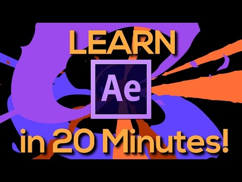 Learn After Effects In Minutes