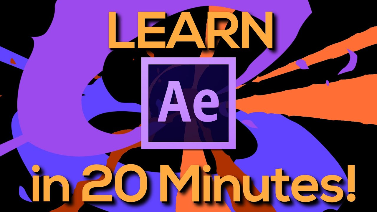 Learn after effects in 20 minutes tutorial for beginners youtube baditri Image collections