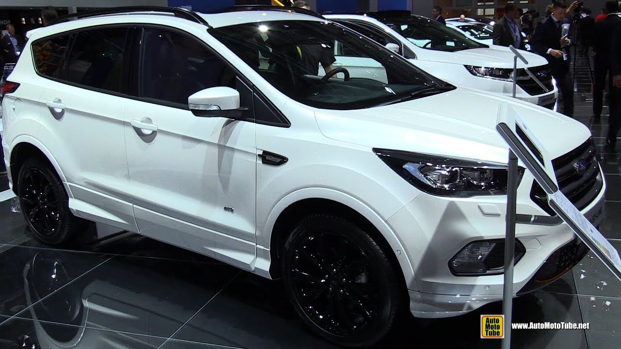 2018 ford kuga st line exterior and interior walkaround 2017 frankfurt auto show youtube. Black Bedroom Furniture Sets. Home Design Ideas