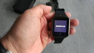 zGPAX S8 3G Smartwatch - Unboxing & Demo