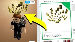 BUYING A HIDDEN TIX ITEM ON ROBLOX! *ONE LEFT*