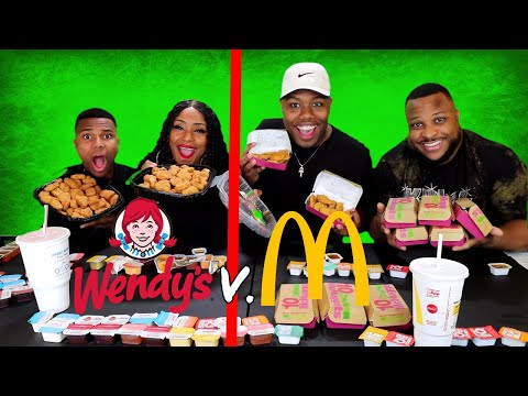 200 Chicken Nugget Team Challenge Wendy's v. McDonald's