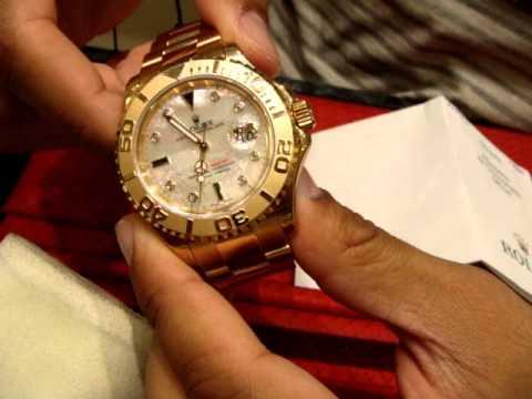 Big Face Rolex 18kt Gold Youtube