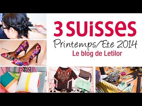 3 Suisses Printemps/Ete 2014 - Pressday