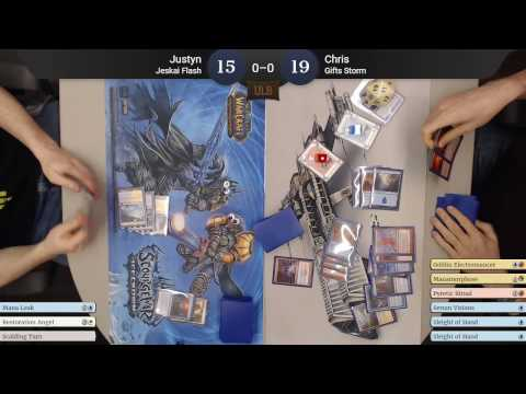 Modern Baral Gifts Storm vs Jeskai Flash, 17 Feb 2017
