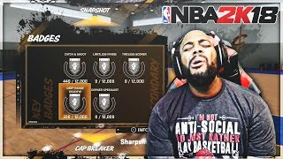 DON'T GRIND FOR BADGES IN MyPARK FOR NBA 2K18 REACTION!