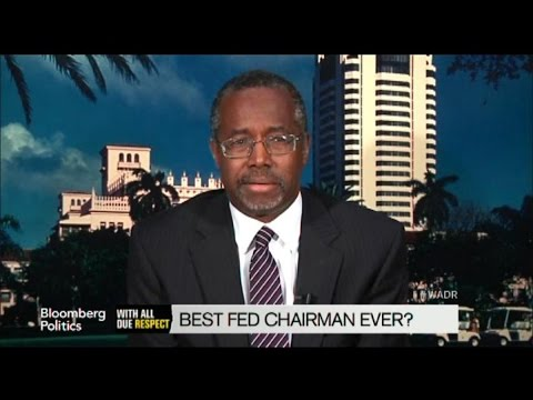 Ben Carson: Alan Greenspan Was The Best Federal Reserve Chair
