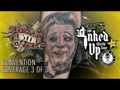 Rockstar Energy Inked Up Tour Tattoo Convention Coverage Musink part 3 of 3