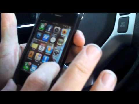 Pandora Radio iPod Handsfree Bluetooth Demo - Car Stereo Oxnard, CA