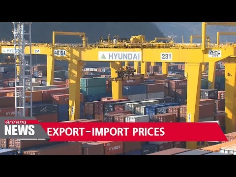 Korea's export-import prices rise in February on stronger Korean won