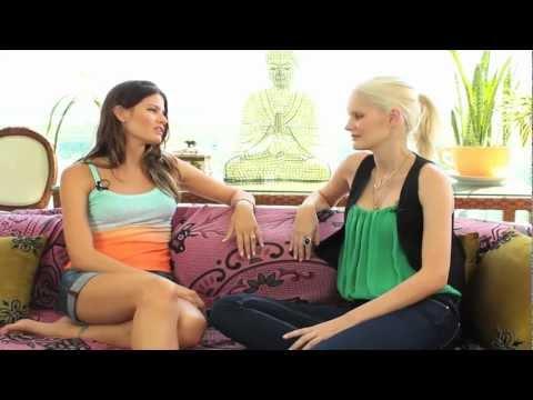 Marcelle Bittar entrevista a top model Isabeli Fontana que diz como conheceu Rohan Marley
