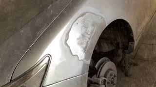 Кузовной ремонт и покраска тойота камри xv50