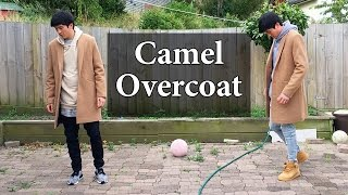 HOW TO STYLE OVERCOAT | Camel Overcoat by ASOS | Adidas NMD, Nike Air Force 1