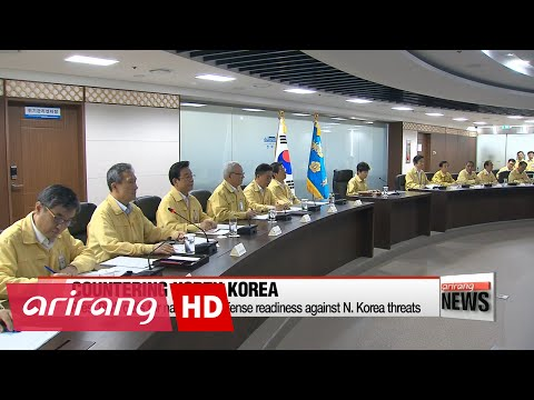 DAY BREAK 60:00 President Park chairs Ulchi National Security Council, cabinet meetings
