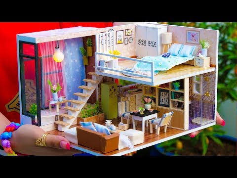6 DIY Miniature Doll House Rooms