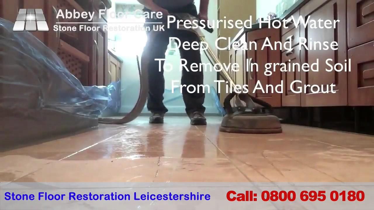 Travertine Polishing Leicester Professional Travertine Floor