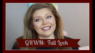 GRWM:  One of my go to fall looks