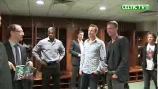 Celtic FC - Behind the Scenes in the Dressing Rooms