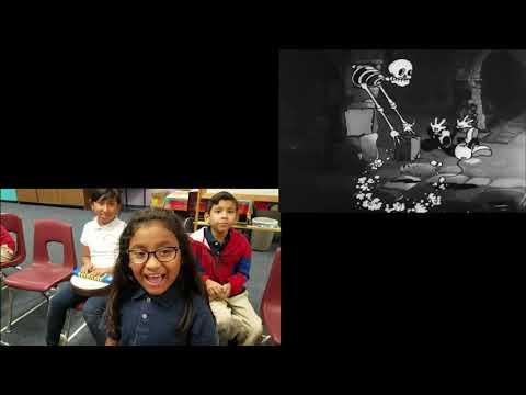Palm Lane Elementary School 4th - 6th Grade Students' Music Class