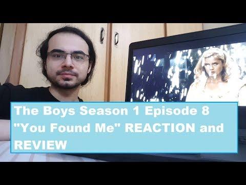 """""""The Boys"""" Season 1 Episode 8 REACTION/REVIEW: You Found Me"""
