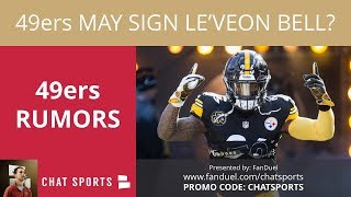 49ers Rumors: Signing Le'Veon Bell, Dez Bryant Interest, & Marquise Goodwin's Injury Stats