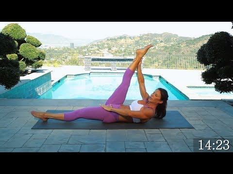 How To Get A 6 Pack - Yoga Inspired Abs and Core Workout 43 min