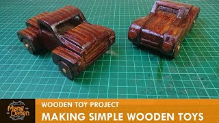 Making Simple Wooden Toys - Free Plans