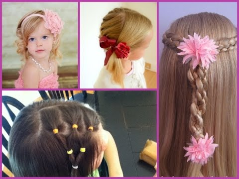cute hairstyle little girls