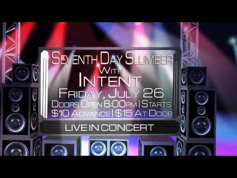 Seventh Day Slumber With Intent -- Live In Grafton, WV