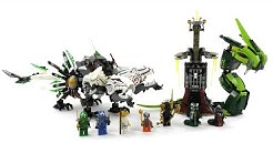 LEGO Ninjago Set 9450 - Rückkehr des vierköpfigen Drachens / Review