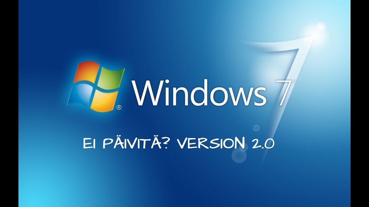 Päivitä Windows 7