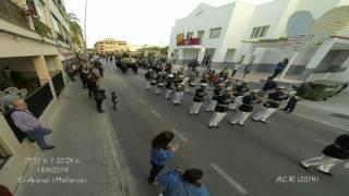 Time Lapse. Procesión del Viernes Santo. Semana Santa S'Arenal 2014 (Mallorca)