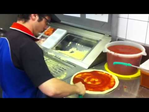 Dominos cheese and pepperoni pizza