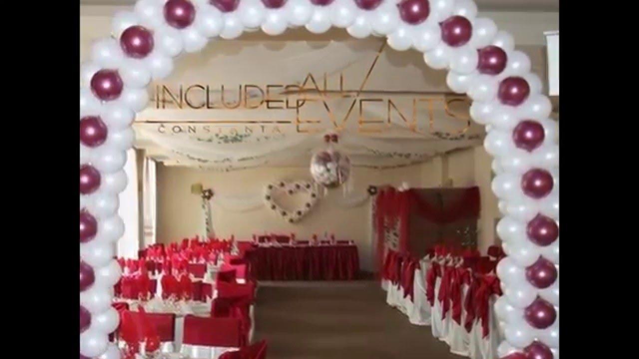 Decoratiuni Din Baloane Pentru Nunta Botez Petreceri Copii