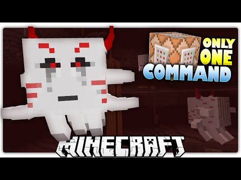Minecraft 1.9 | MUTANT GHAST'S DIAMOND TREASURE | Custom Command