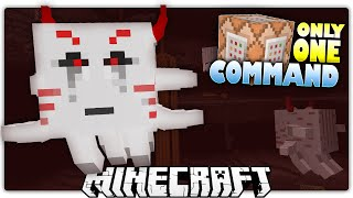 minecraft 1 9   mutant ghast s diamond treasure   custom command