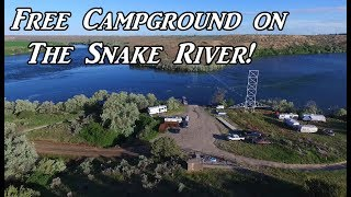 let s go for a drive camping on the snake river vanlife on the road